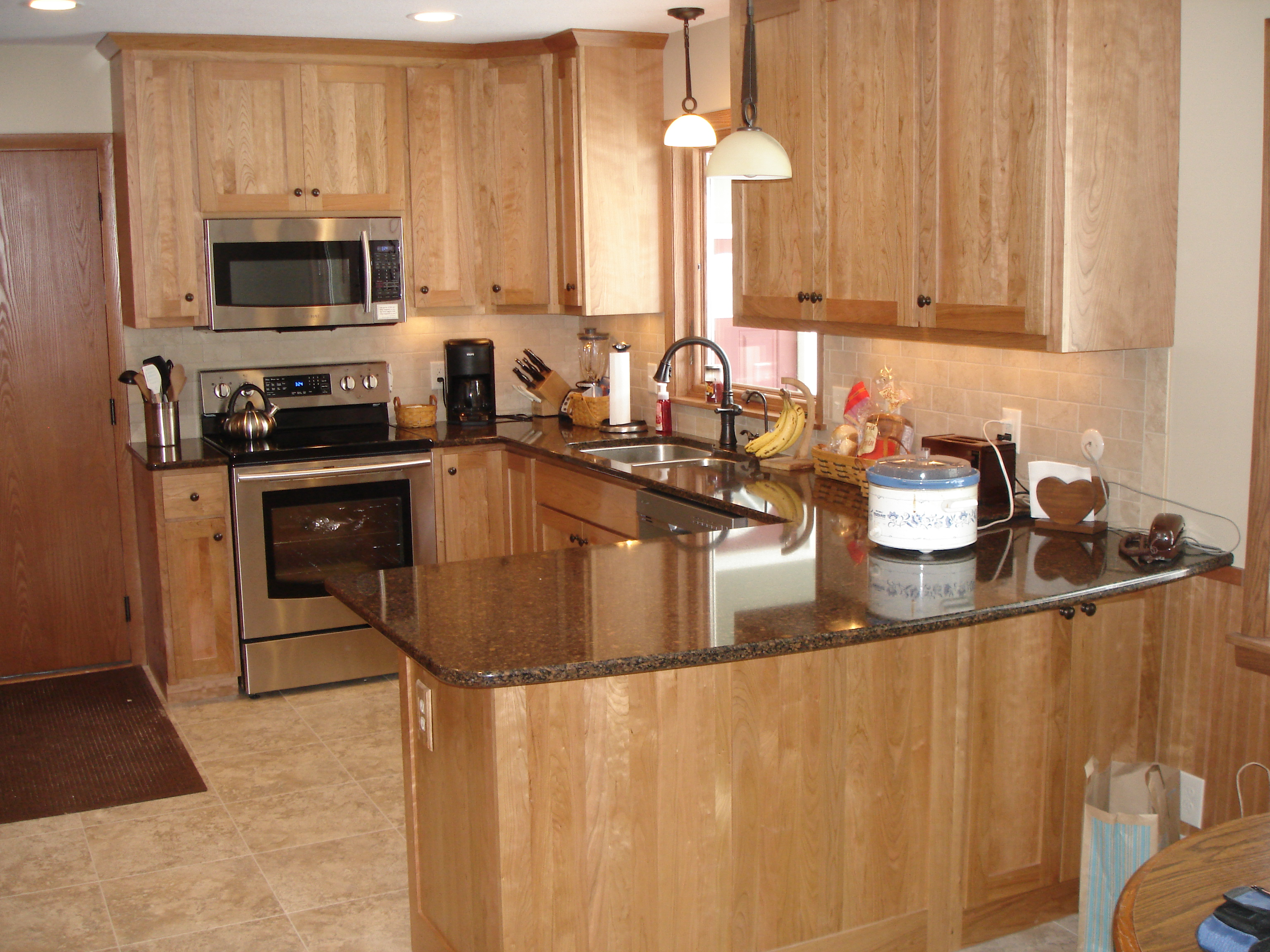 Valley Custom Cabinets Kitchen Remodel White Bear Lake MN