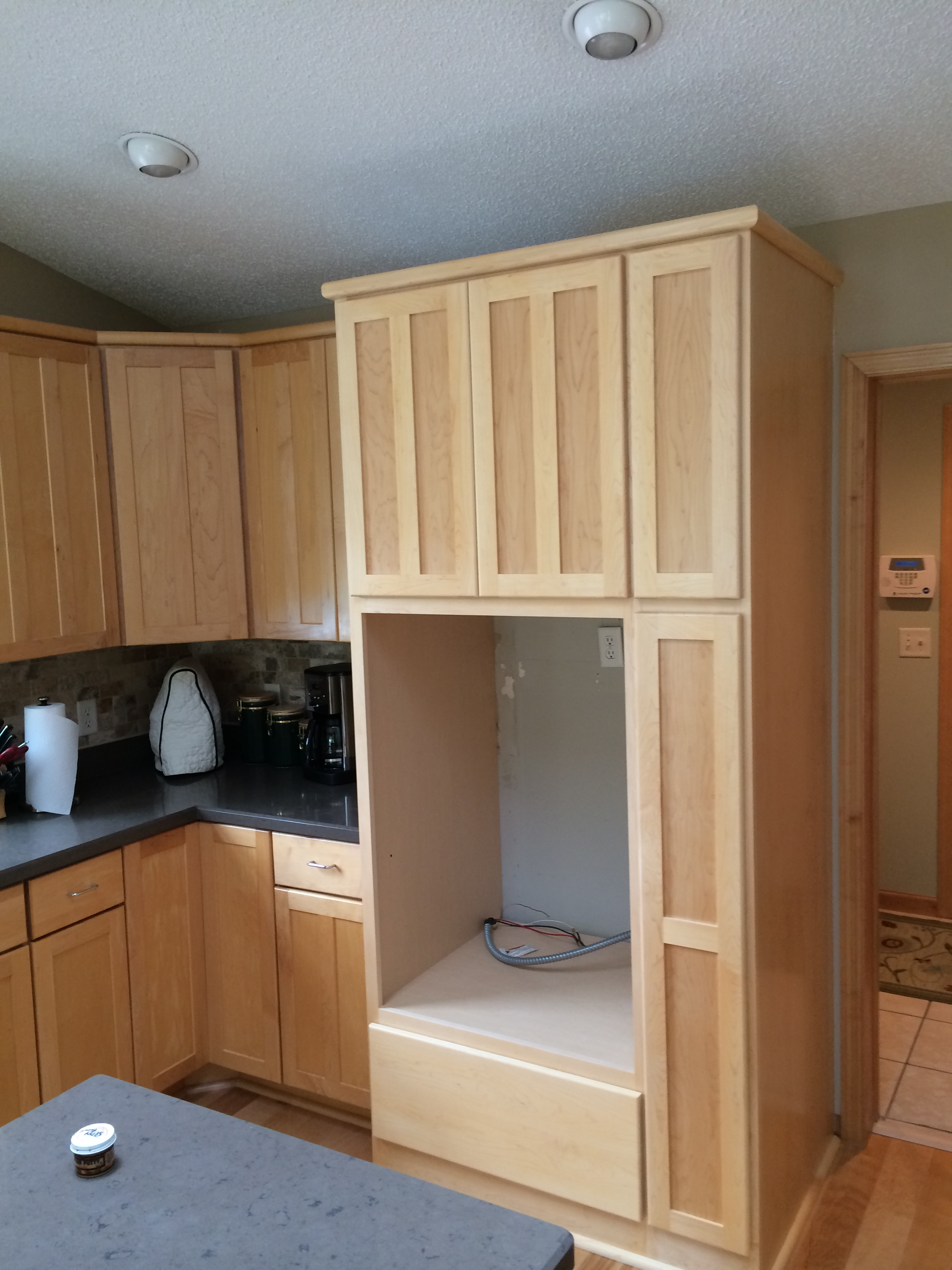 Valley custom cabinets custom cabinets hudson for Double kitchen cabinets