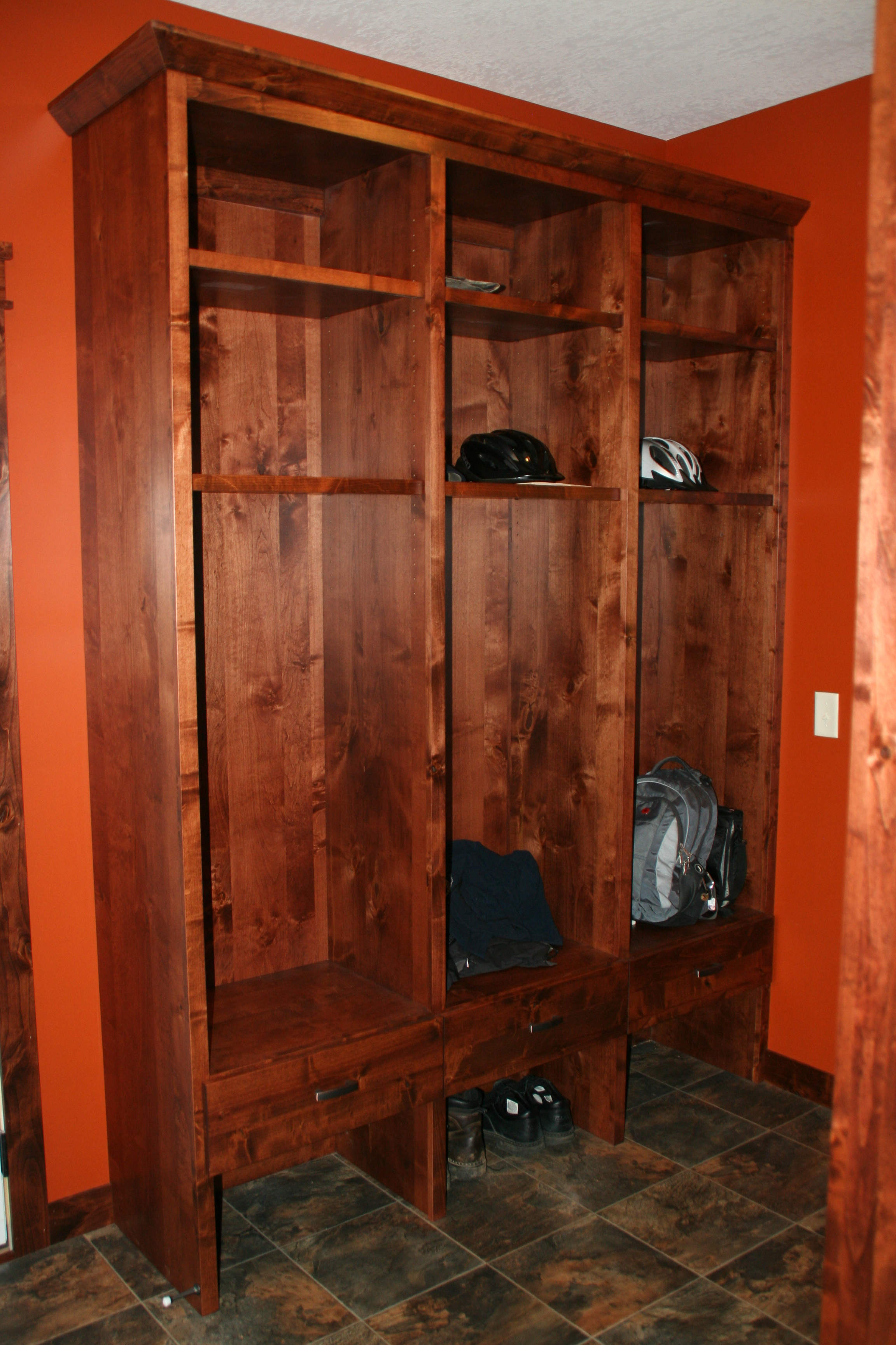 Valley Custom Cabinets Mudroom Cabinets