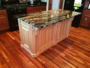 Custom Built Island Natural Hard Maple  Wood bury MN
