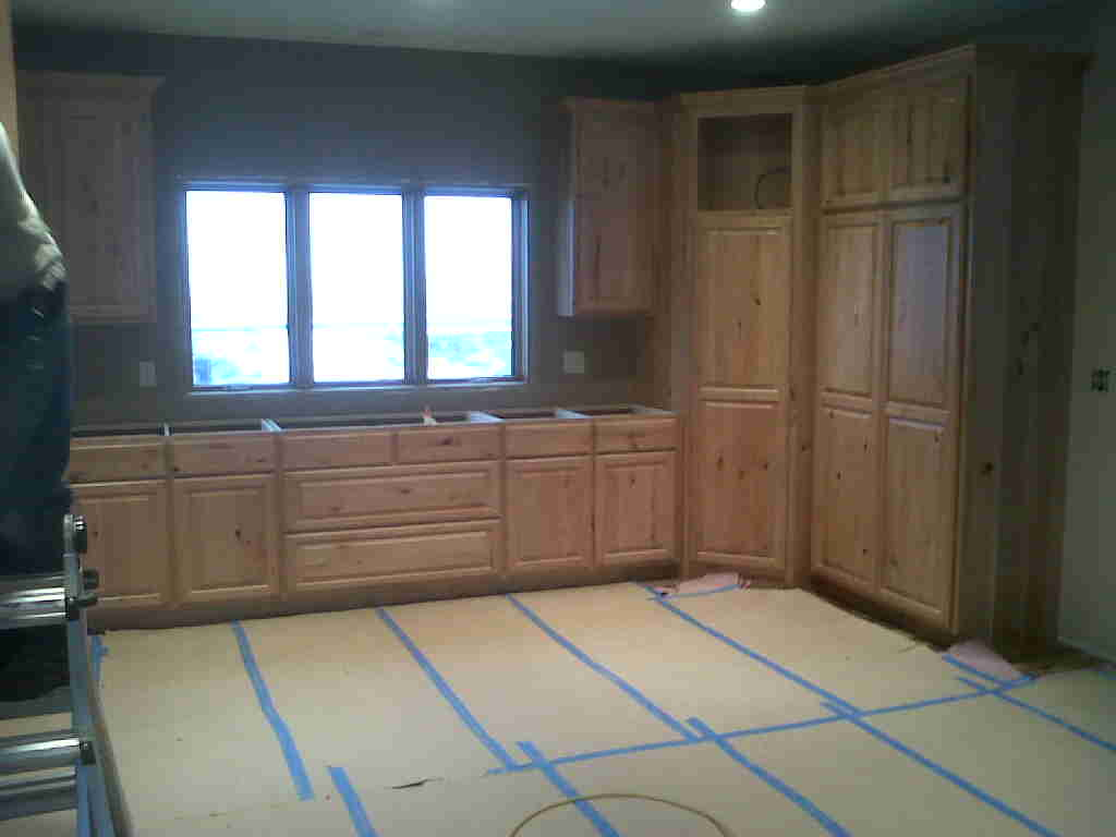 Kitchen Cabinets Rustic Cherry Somerset WI