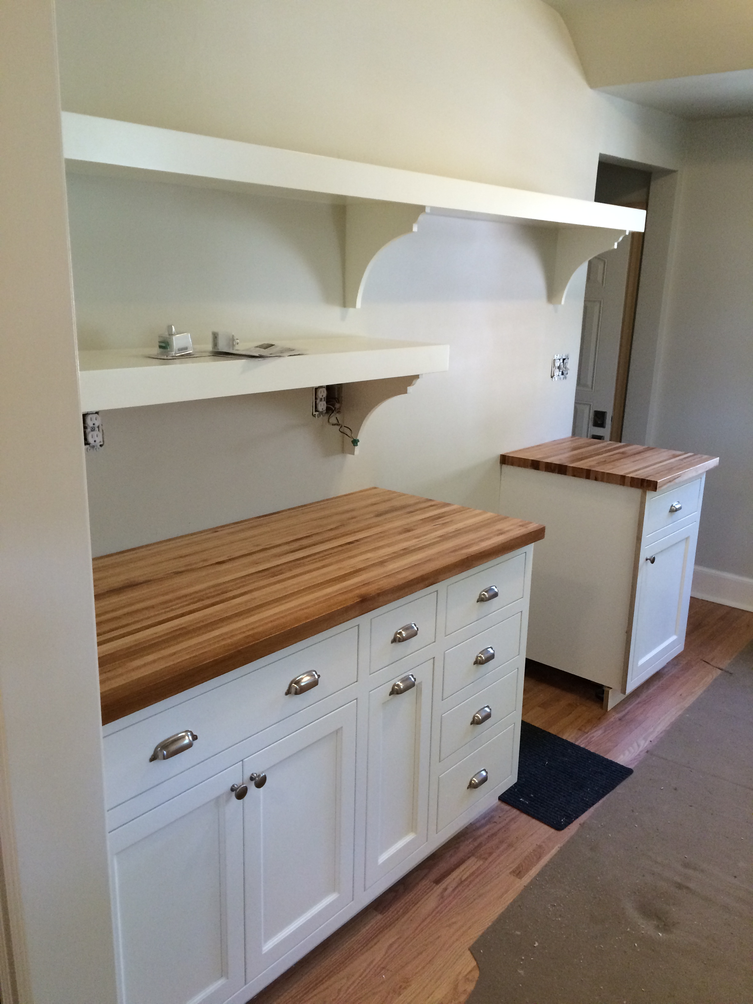 Valley Custom Cabinets Kitchen Remodel St Paul MN Painted Custom