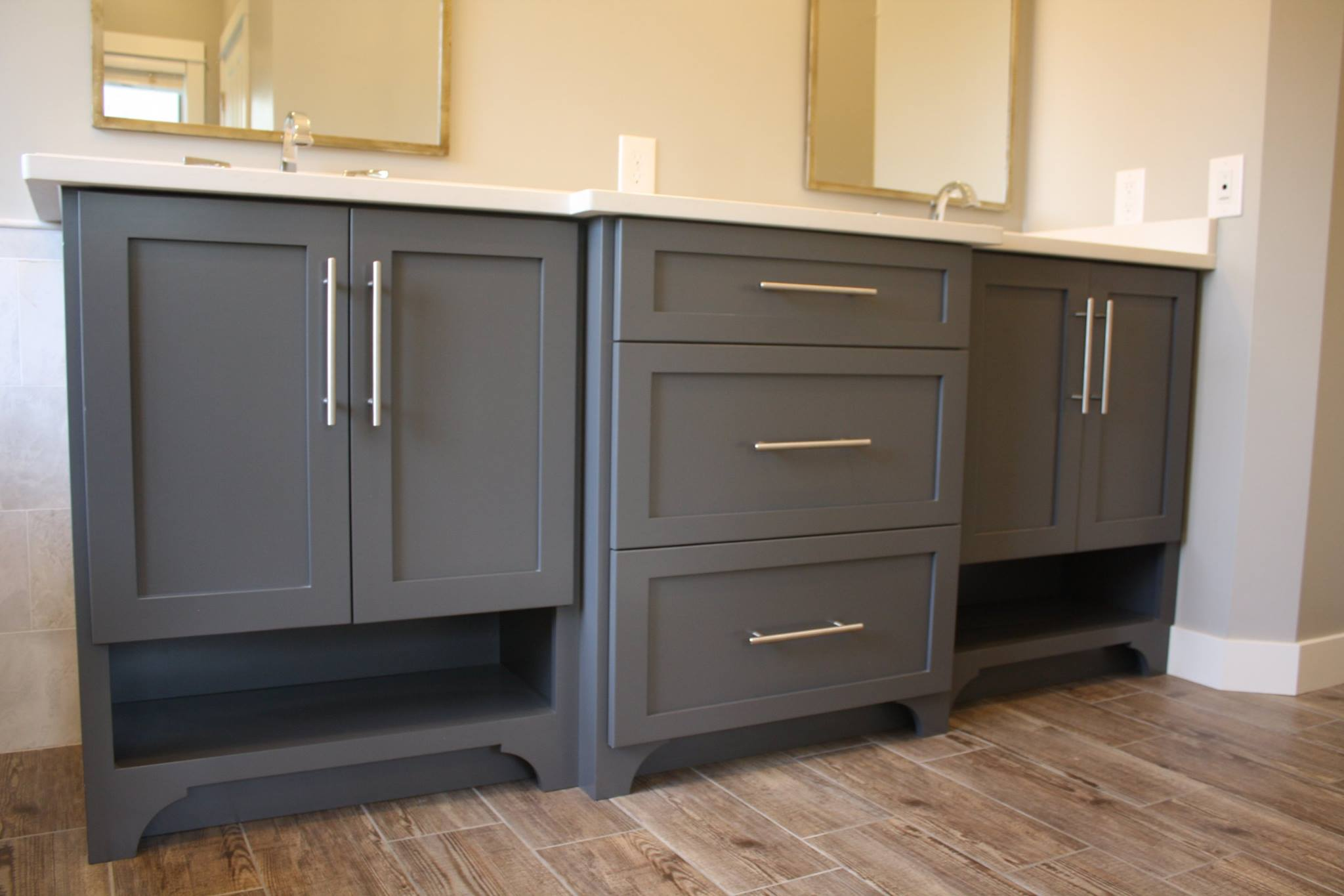 bathroom cabinets with vanity valley custom cabinets bathroom vanity 11428