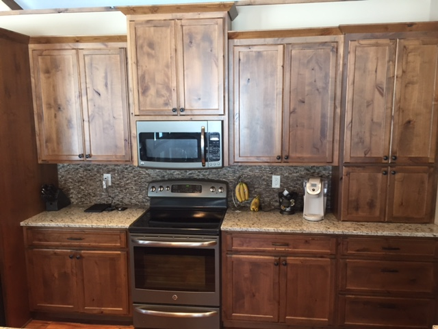 custom kitchen cabinetry stained rustic alder stillwater mn - Alder Kitchen Cabinets
