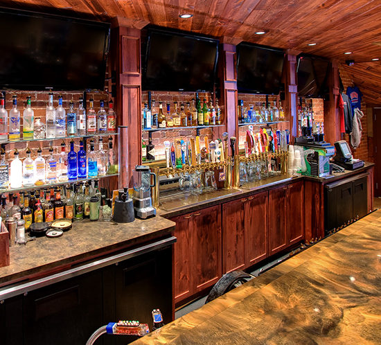 Custom Kitchen Cabinets Cost: Commercial Bar Cabinets