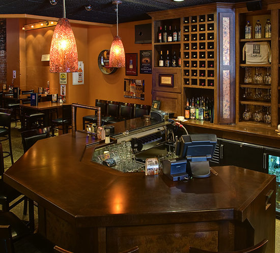 Minnesota Kitchen Cabinets: Commercial Bar Cabinets