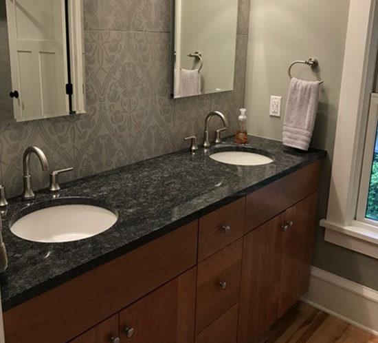 Custom Bathroom Vanities Minneapolis valley custom cabinets | bath cabinets