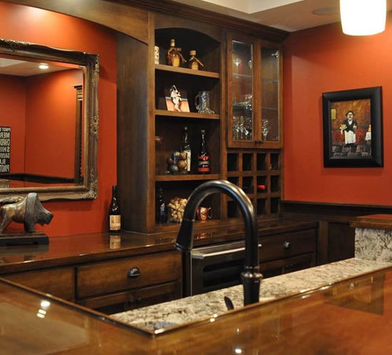 Valley Custom Cabinets | Home Bar Cabinets | St Paul MN