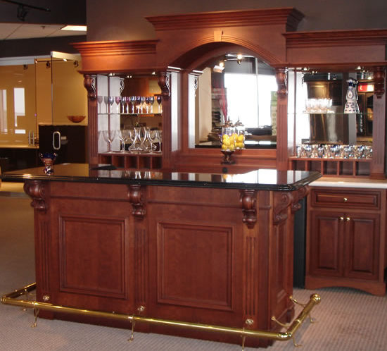 Valley Custom Cabinets   Commercial Bar Cabinets   St Paul ...