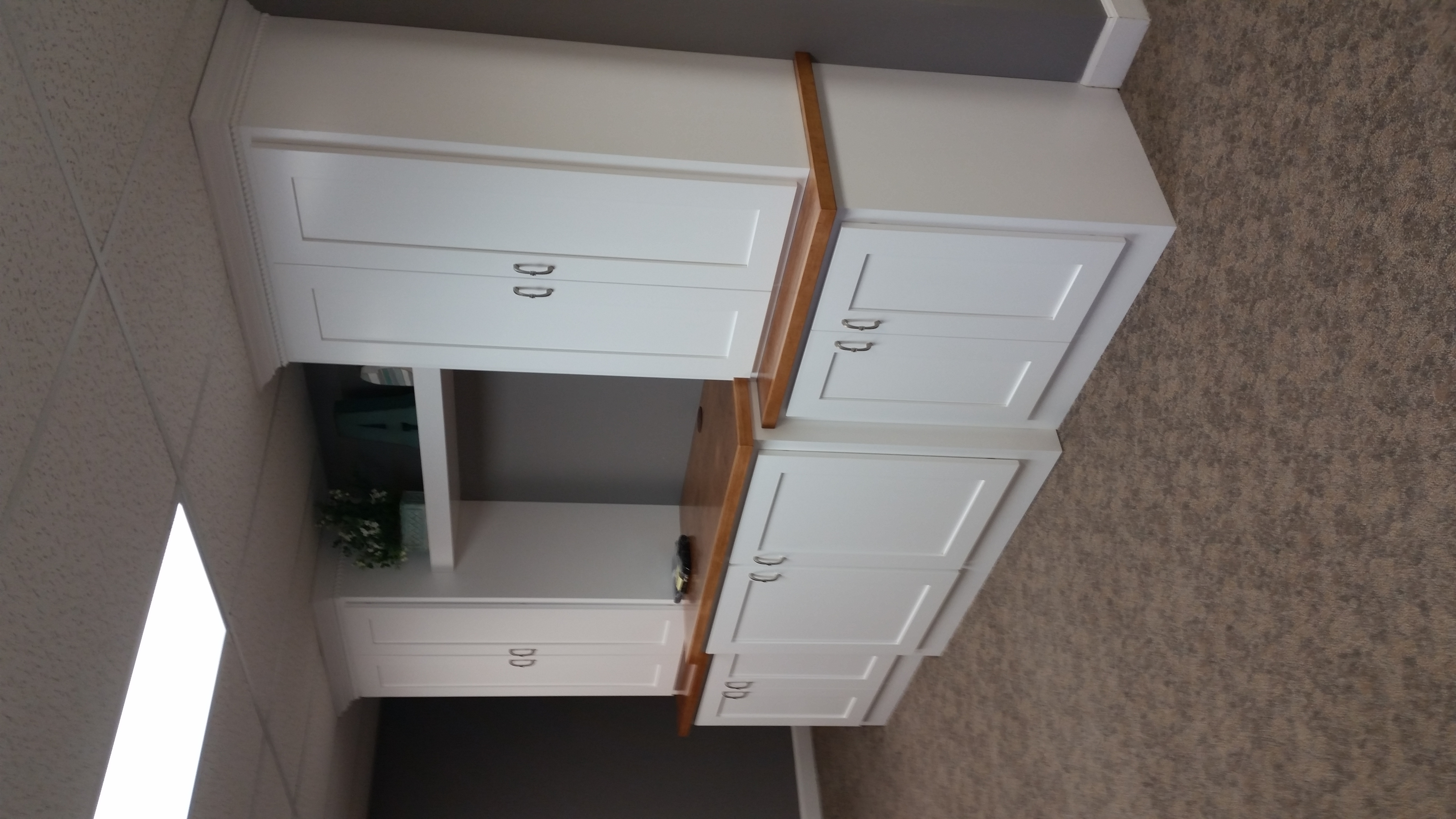 Custom Office Craftroom Cabinets Media Cabinetry For