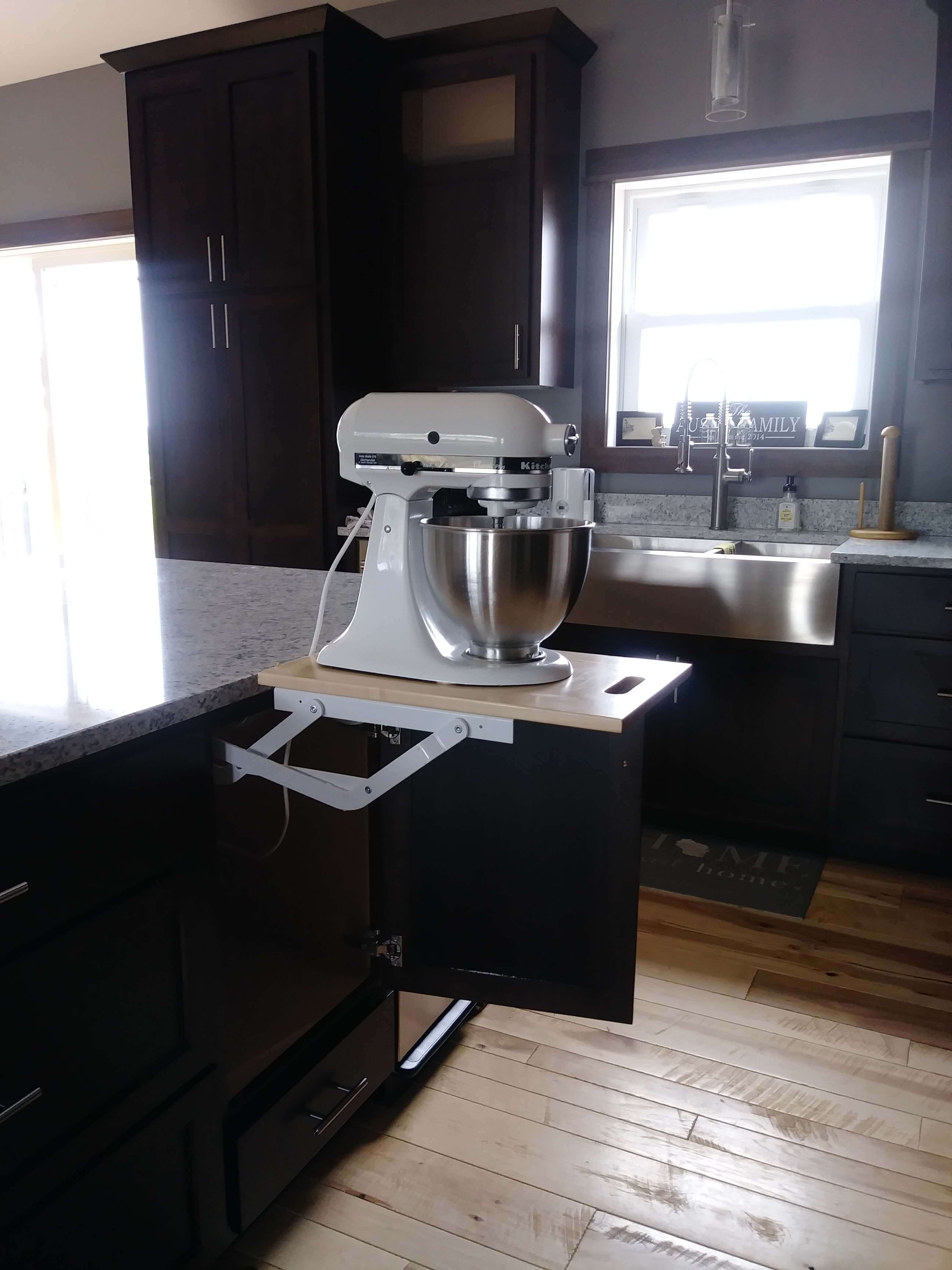 Cabinet Accessories Appliance Lift Custom Cabinets